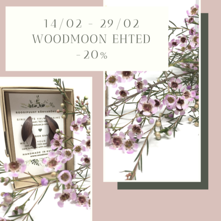 Woodmoon ehted, allahindlus -20%